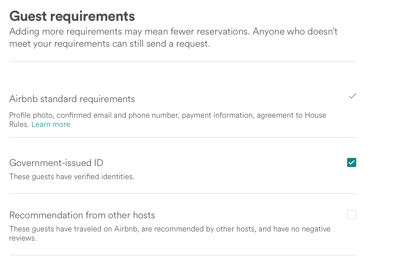 Airbnb no longer requiring photo ID? - We are your AirBnB hosts forum!